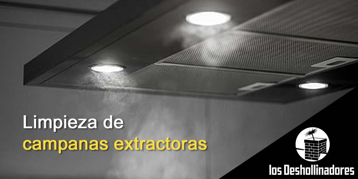 Limpieza de campanas extractoras