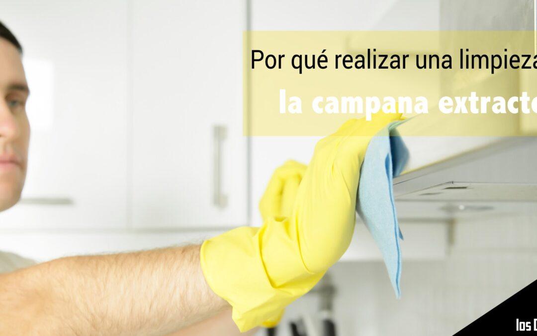 Por qué realizar la limpieza de campanas extractoras