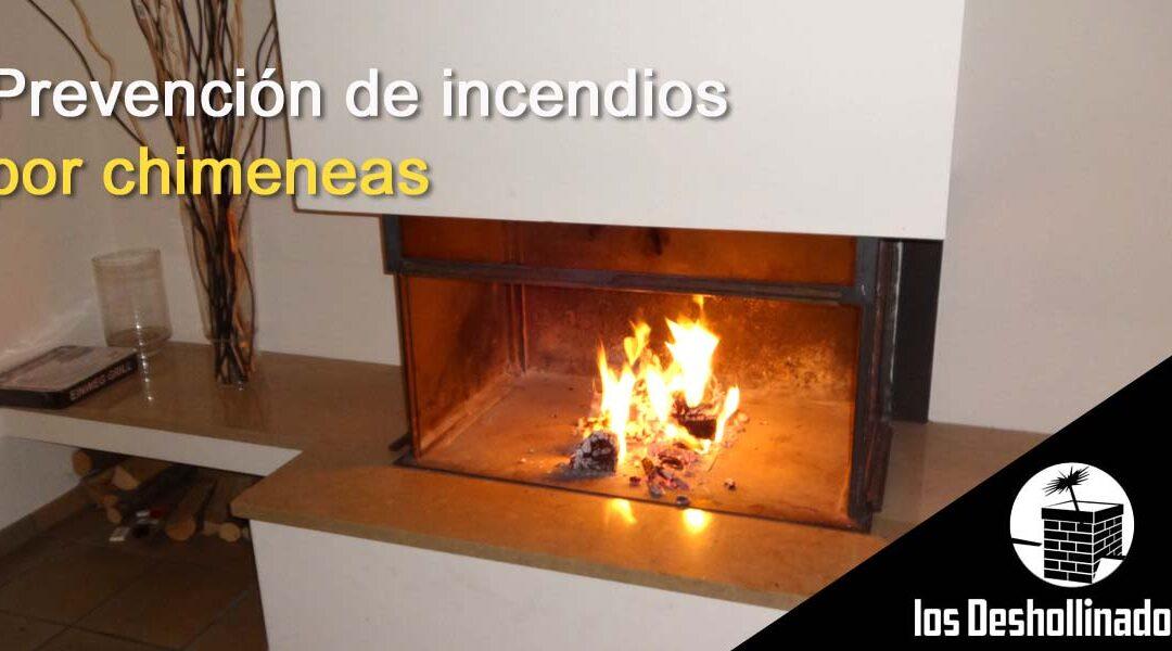 Prevención de incendios por chimeneas
