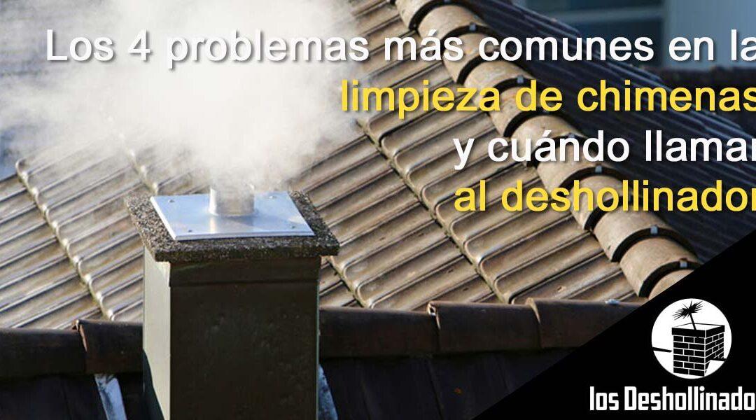 Los 4 problemas más comunes en la limpieza de chimeneas y cuándo llamar al deshollinador