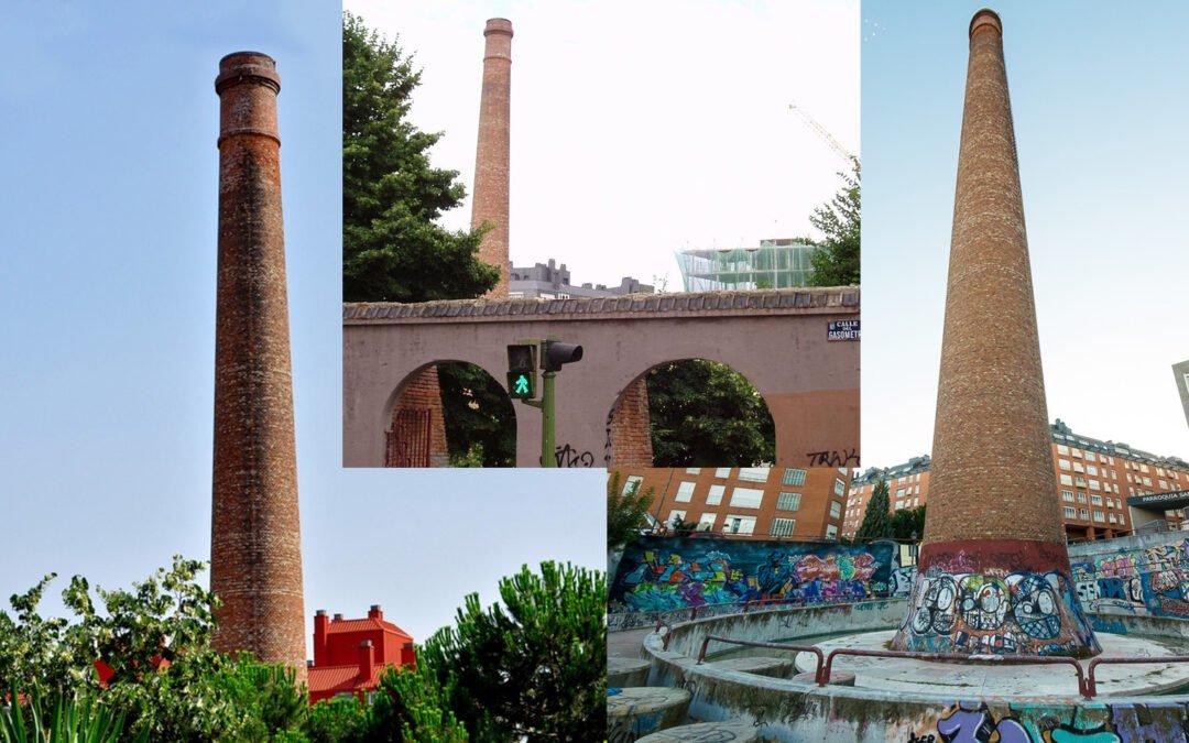 Las 14 chimeneas de Madrid con más historia (zona Este)