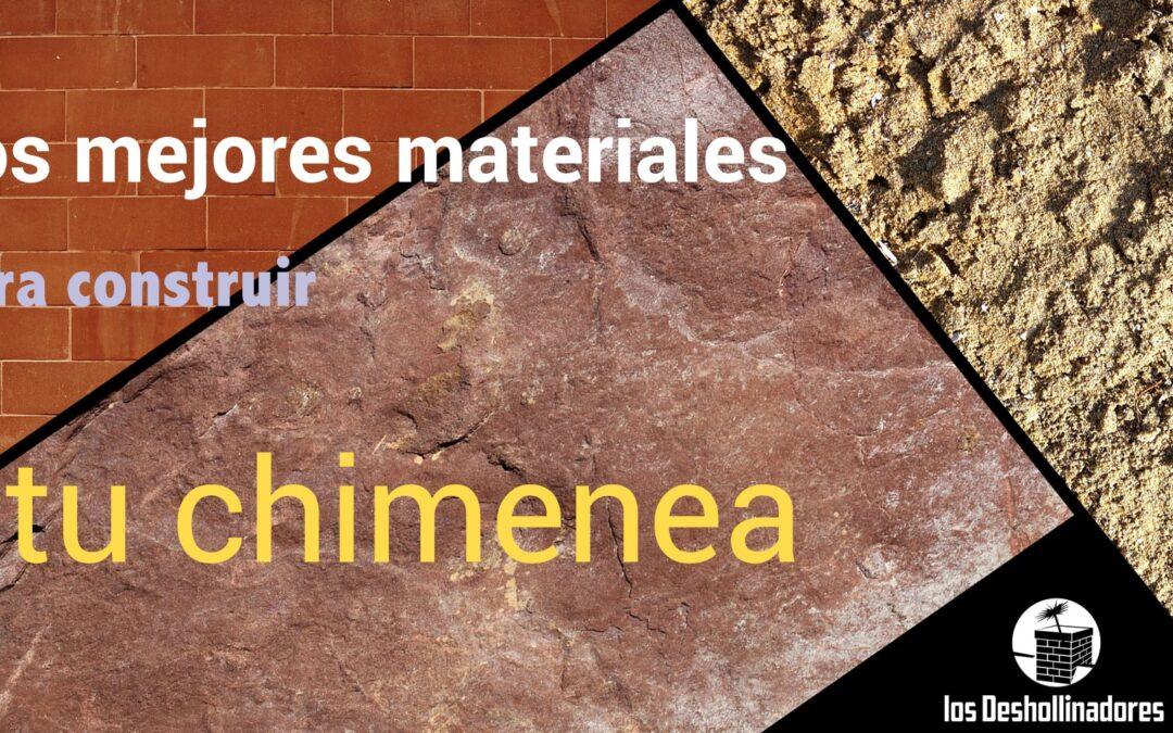 Mejores materiales para construir una chimenea y mantenerla fácilmente