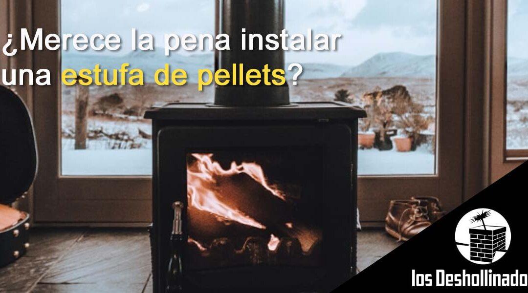 ¿Merece la pena instalar una estufa de pellets?